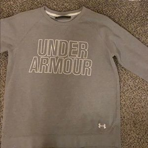 under armour crewneck sweatshirt